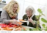 Hilfe für Seniorenbetreuung zu Hause