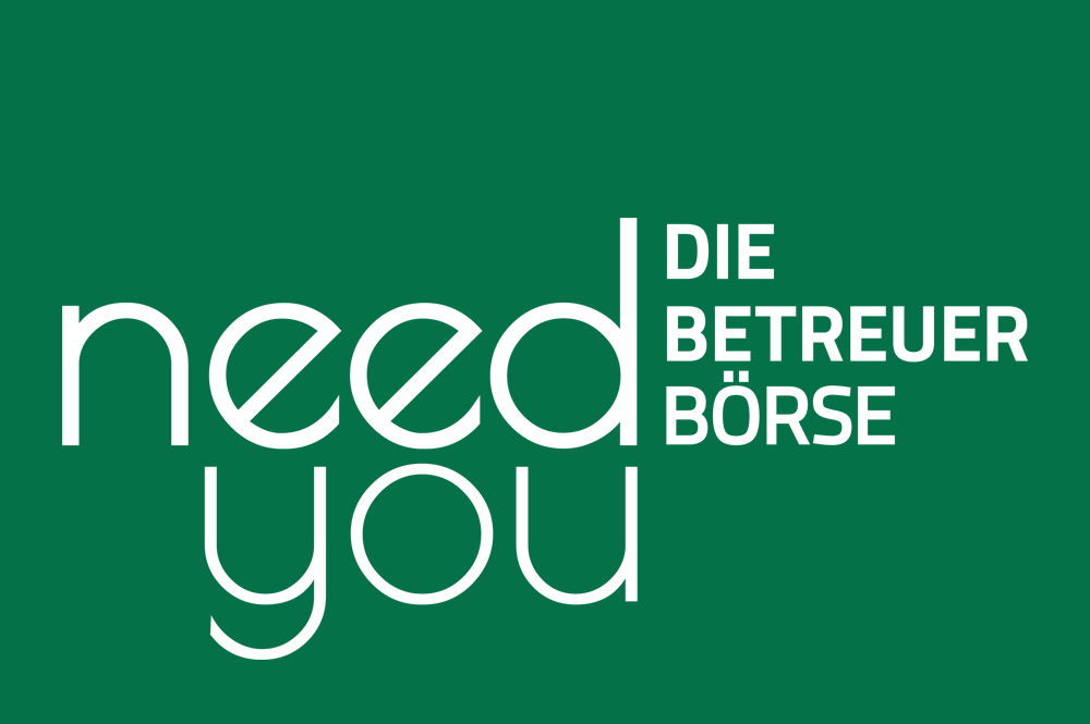 need you - Die Betreuerbörse